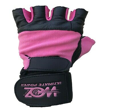 Leather Gym Gloves Weight Lifting Gloves Body Building Training Exercise Workout 5