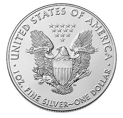 2019 $1 1oz Silver American Eagle .999 BU 2