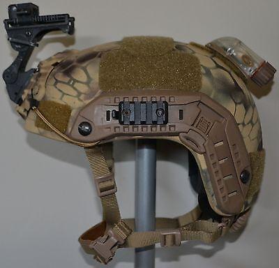 Ballistic IIIA SOHAH Gunfighter Kevlar helmet SEAL Wilcox CVC Ops Core Large