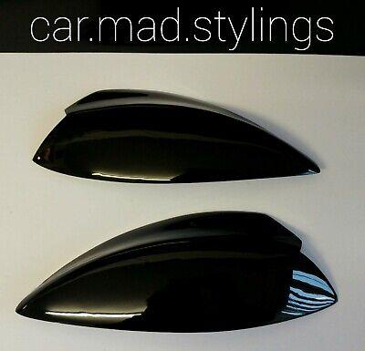 Subaru Impreza Bug Eye 01-03 Black Plastic Eyebrows/Light Brows/Eyelids WRX/STI 4