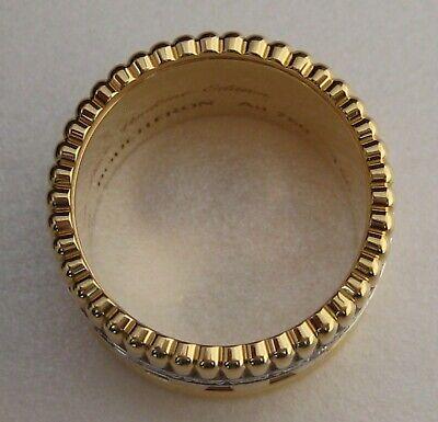 60eb3e41dcf4d GENUINE BOUCHERON QUATRE RADIANT EDITION 18ct YELLOW GOLD AND DIAMOND RING
