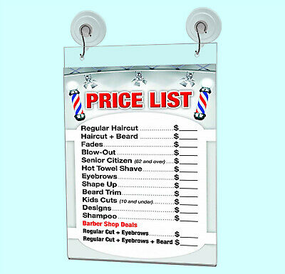 """Ad Frame Sign Holder Wall Mount 8""""W x 10""""H with Hooks and Suction Cups 11"""