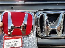 Honda Civic Type-R FK2 EMBLEM REAR H Red Genuine OEM 2015-16 Badge Type R NEW