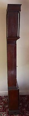 Antique Oak & Mahogany inlaid Longcase Grandfather Clock C Johnson CONGLETON 6