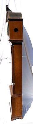 ~ Antique Inlaid Mahogany Longcase Grandfather Library Clock : DARLING EDINBURGH 10