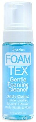 Foam-Tex fOaMiNg Cleaner KiT suede leather sneakers shoes boots foamtex ANGELUS 4
