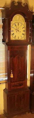 "Antique Mahogany "" Tamsworth"" Automation Zodiac Longcase / Grandfather Clock 7"