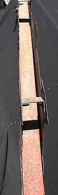 Antique Iron and Painted Tin Sign Hanging Bracket 4