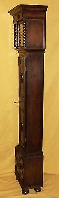 Antique 8 Day Miniature Grandfather / Grandmother Clock : Weight Driven Movement 12