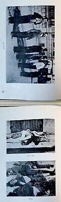 1946 Palestine HOLOCAUST Atrocities JEWISH PHOTO BOOK Israel JUDAICA Hebrew RARE 11