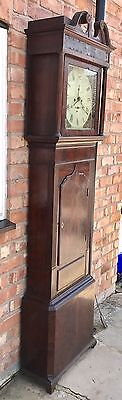 Mahogany Wignall Of Ormskirk 8 Day Grandfather Clock 7