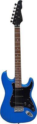 Optik ! E-Gitarre Matt Blau - Pickup Glanz Schwarz - Elektrogitarre - Tremolo -# 2