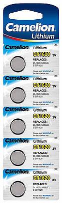Camelion Lithium Knopfzellen 3V CR Edelstahl Batterien für Alarmanlagen Computer 4