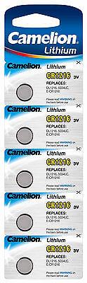 Camelion Lithium Knopfzellen 3V CR Edelstahl Batterien für Alarmanlagen Computer 2