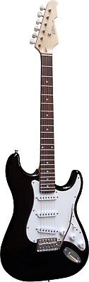 E Gitarre Set Elektrogitarre E-Gitarre Schwarz Set Tasche Verstärker 20 Watt Xxx 2