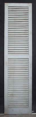 "3 avail 17.5""x68"" Vintage Wood Wooden Window Shutter Cabinet Pantry Louver Door"