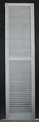 "3 avail 17.5""x68"" Vintage Wood Wooden Window Shutter Cabinet Pantry Louver Door 4"