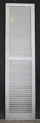 "3 avail 17.5""x68"" Vintage Wood Wooden Window Shutter Cabinet Pantry Louver Door 2"