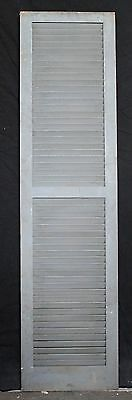 "3 avail 17.5""x68"" Vintage Wood Wooden Window Shutter Cabinet Pantry Louver Door 5"