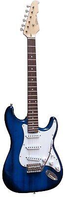 E Gitarre Set Dunkelblau Elektrogitarre mit Verstärker Stimmgerät Zubehör xxxxxx 2