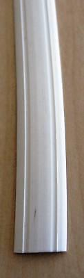 Leistenfüller Gummiprofil  Einlegeband 12 mm  weiß ab 1m  Länge
