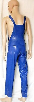 Latex Latzhose lang
