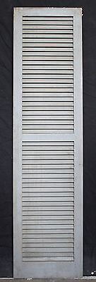 "3 avail 17.5""x68"" Vintage Wood Wooden Window Shutter Cabinet Pantry Louver Door 3"