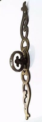 """7 5/8"""" French Provincial Antique Hardware Vintage Drawer Pull Brass Cabinet Pull 7"""