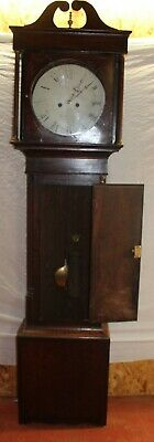 1880's 8 Day Grandfather Clock with Mahogany Case from Leominster 2