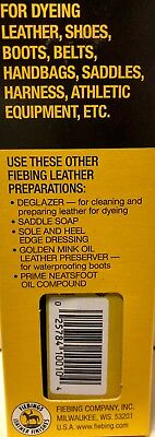 Fiebing's Leather Dye w/ Applicator - ALL COLORS- 4 OZ  |Not for CA Customers| 7