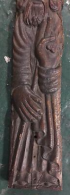 Original Antique Icon  wood St.Nikola 17-18 century maybe 15 century 7