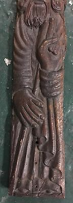 Original Antique Icon  wood St.Nikola 17-18 century maybe 15 century 5