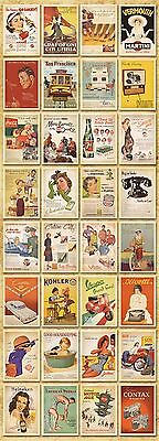 Lot of 32 Postcard Vintage Slogan Poster Photo Picture Poster Post Cards 6