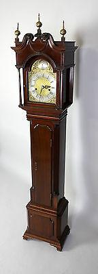 A Mahogany Grandmother Clock By John Walker London 5
