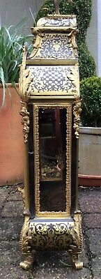 Huge 17th / 18th Century French Louis XIV Boulle Cartel Bracket Clock. Not fusee 6