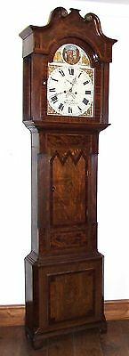 Antique ROCKING FATHER TIME Longcase Grandfather Clock : HAY WOLVERHAMPTON 2