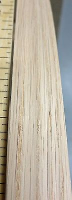 Red Oak wood veneer edgebanding 3 x 120 with no adhesive 1//40th thickness