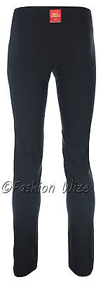 Ladies Girls Smart Trousers Casual Sizes 6 8 10 12 14 Skinny Leg Black Grey S8 6
