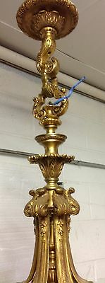 Rococo Bronze 6 Arm 12 Light Chandelier 5
