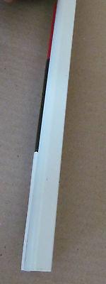 """79/"""" Aluminum Vinyl Insert Type Corner Molding RV Trailer 1/"""" Leg x 1 1//4/"""""""