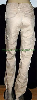 Calvin Klein Unisex Jeans 28 Waist 33 Inside Leg Stone Cream New Unworn Rrp £154 6