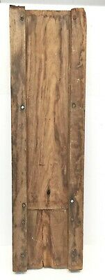 Antique Oak MANTLE COLUMN  post reclaimed fireplace salvage *B27* 8