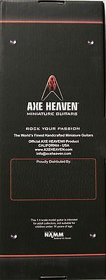 Axe Heaven Chuck Berry Cherry Red 1/4 scale Miniature Collectible Guitar CB-308
