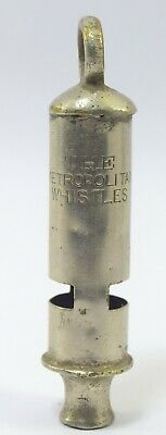 Indian Vintage Brass Whistle – Collectible  The Metropolitan  Whistle G70-252 US 4