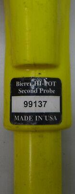 Bierer Hi-Pot Meter Probe Set 7.2KV 7