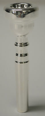 RE-PLATED USED VINCENT BACH 7C TRUMPET MOUTHPIECE