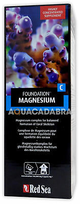 RED SEA REEF FOUNDATION C 1L MAGNESIUM SUPPLEMENT Mg CORAL AQUARIUM FISH TANK