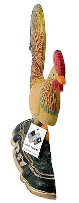 Door Stop Rooster Cast Iron SREDA Large Decorative Stopper Figurine Doorstop 3