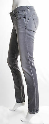 Jeans Gas Donna Beautiful Body Fit  Slim Superstretch Grigio Invecchiato 2
