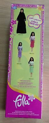 """Fulla Early Edition 12/"""" Middle Eastern Islamic Doll with Abaya Outfit Collector"""